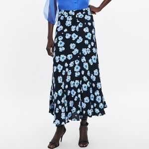 New Maxi Floral Skirt